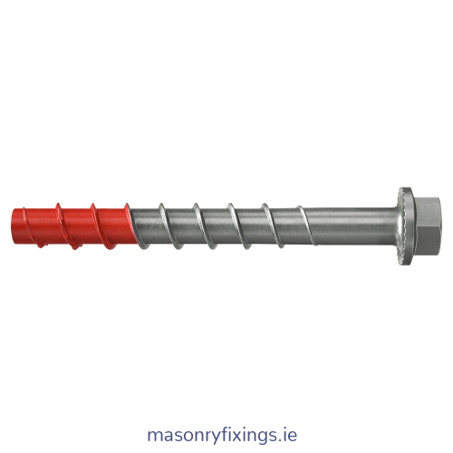Hex Head Concrete Self Tapping Screw Bolts Thunderbolt bolt fischer 120mm x M10